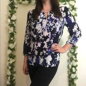 🌿 Express | Floral Blouse Size Extra Small